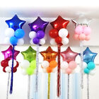 TOYMYTOY 10pcs 18 inch Foil Balloons Party Favor Foil Balloo