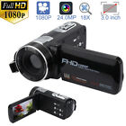 FULL HD 1080P 24MP 3 LCD 16X ZOOM Night Vision Digital Video DV Camera Camcorder