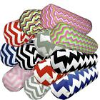 Bolster Cover*Zig Zag Cotton Canvas Neck Roll Tube Yoga Massage Pillow Case*Ae