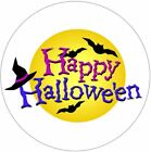 Happy Halloween STICKERS #3 Party ENVELOPE SEALS LABELS  Celebrations Business