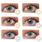 1Pair Unisex Blue Sky Gray Jade Green Coloured Contact 1Year Mode