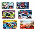 New Disney / Film Superhero Characters Carrera Scalextric Track Toy Kids Box Set