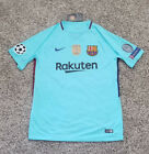 Messi FC Barcelona Spain Soccer Club New Men's Away Blue Jersey Size M L or XL