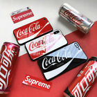 Coca Cola Logo iPhone Glass TPU Case Cover  For iPhone X 6S 6 7 8 Plus $4.95  on eBay