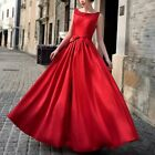 Women Long Gown Formal Dress Evening Cocktail Bridesmaid Party Wedding Ball Prom