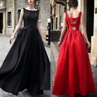Women Long Gown Formal Dress Evening Cocktail Bridesmaid Par