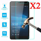 2x Tempered Glass For Nokia Lumia 550 640 650 950 XL 1520 Screen Protector Film