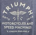 ⭐NWT⭐Men's Lucky Brand Triumph Motorcycles Grease Guts & Glory Burnout T-Shirt $27.99 USD on eBay