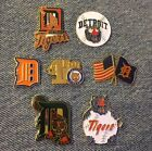 Detroit Tigers Pins ~ MLB ~ Pick a Pin ~ Choose one or more ~ Add to Cart on Ebay