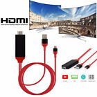 8 Pin Lightning to TV HDTV HDMI Mirroring Cable AV Adapter For Android iPhone