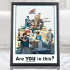 WW1+UK+Propaganda+Poster+-+Are+You+in+This%3F%2C+Recruiting+Poster%2C+Military+Prints