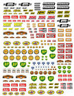 1:18 DECALS FOR DIECAST AND MODEL CARS & DIORAMA MR G