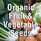 Johnsons Organic Seeds For Growing Fruit and Vegetables Natural Seed Packets