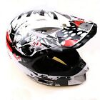 Fashion Motocross Racing Motorcycle MX Full Face Protective Helmet S-XL Off-Road