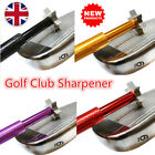Golf Club Groove Sharpener Cleaner with 6 Cutters Irons Wedge Cleaning Tools Set
