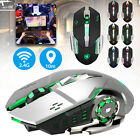 2.4GHz Rechargeable M70 2400DPI Backlit Wireless USB Optical Gaming Mouse Mice