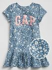 Внешний вид - NWT BABY GAP GIRLS DRESS flower floral logo t-shirt  you pick size