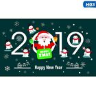 2019 New Removable Window Door Wall Sticker Home Room Merry Christmas Decals