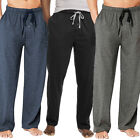 Внешний вид - Hanes Men's Drawstring Tagless Cotton Knit Lounge Sleep Pants Fly & Pockets
