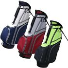 """NEW RJ Sports SB-595 Stand / Carry Golf Bag 9"""" 6-way Top - Choose Color"""