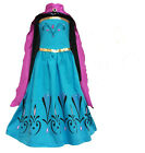 Frozen Princess ELSA Coronation Dress with Cape Costume Halo