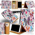 Leather Stand Flip Wallet Cover SmartPhone Case For Various HTC Desire Models