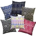Pillow Cover*Thailand Cotton Canvas Sofa Seat Pad Cushion Case Custom Size*AL8