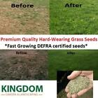 GRASS SEED HARD WEARING LAWN SEEDS PREMIUM TOUGH FAST GROWING DEFRA CERTIFIED <br/> THE BEST PREMIUM GRASS SEED – OVER 20,000 BAGS SOLD