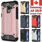 For Samsung Galaxy A8 2018 Case - Tough Hybrid Shockproof Armor Phone Cover