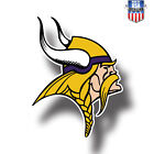 Minnesota Vikings NFL Football Color Logo Sports Decal Sticker  Free Shipping