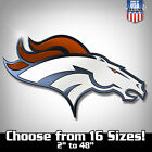 Denver Broncos NFL Football Color Logo Sports Decal Sticker - Free Shipping