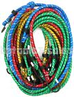 "Внешний вид - 10pc Bungee Cord Tie Down Set 18"" 24"" 30"" 36"" Heavy Duty Color Straps 2 Hook End"