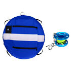 Freediving Training Buoy + Finger Reel Guide Line Spool 30m Line Bolt Snap