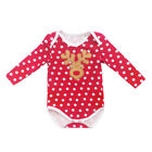 My First Christmas Outfits Costume Baby Santa Deer Xmas Romper One Piece Clothes