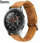 20mm HOCO Duke Genuine Leather Band for Samsung Galaxy Watch 42mm Cowhide Strap