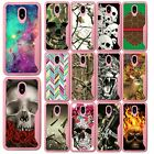 For Samsung Note 9, Soft Pink Edge TPU Case w/ Designs Shock Resistant