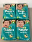 Pampers Diapers Size 1,2,3,4,5,6(Sold in case quantity)  <br/> # of diapers sold in each case listed in description.