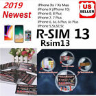 RSIM 13 2019 R-SIM SUP Nano Unlock Card fits iPhone XS/8/7/6/6S 4G LTE IOS 11 12
