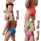 USA Seller Sexy Men's briefs Mesh Sheer lace Pouch G-string bikini Underwear