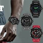 SMAEL Military Watches for Men Chronograph Sport Work Digital Quartz Wrist Watch image