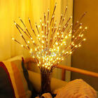 Bright LED Willow Tree Branch Light Christmas Party Xmas Decor Fairy String Lamp