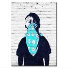 Gift Poster Painting Masked Boy Picture Print On Canvas Wall Art Kid Room Decor