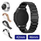 Replacement Stainless Steel Watch Band Strap For Samsung Galaxy Watch 42mm/46mm