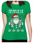 Valahalla Viking Nordic God Ugly Christmas Sweater Women T-Shirt Holiday