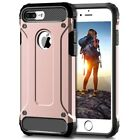 For iPhone 7 Case - Dual Layer Hybrid Shockproof Hard Armor Back Cover