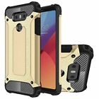 For LG G6 Case - Dual Layer Hybrid Shockproof Heavy Duty Hard Armor Cover