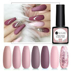 BORN PRETTY 6ml Nagel Gellack Glitzern Metallisch Mirror Gel UV Polish Nail Art