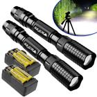 90000/20000/10000Lumens LED Flashlight Torch Zoomable Outdoor Light Lamp USA