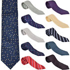 Mens Classic Tie Party wear Christmas Wedding Solid Pattern Tie Necktie Lot