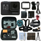 GoPro HERO7 Black 12 MP Waterproof 4K Camera Camcorder + Ultimate Action Bundle
